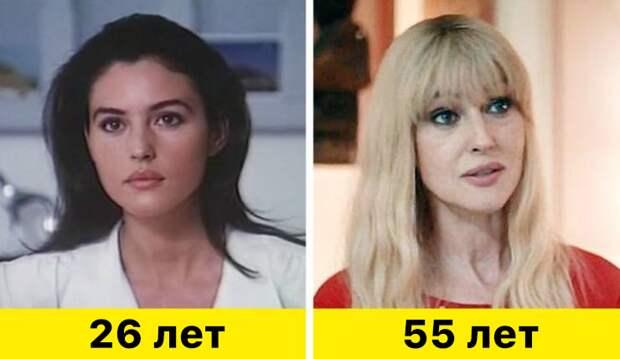 """17. Моника Беллуччи - """"Взрослая любовь"""" (1990) и """"Человек, который продал свою кожу"""" (2020)"""