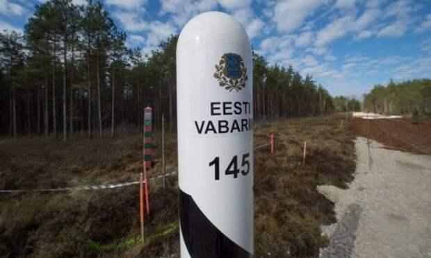 Эстония ставит колючую проволоку на границе с Россией