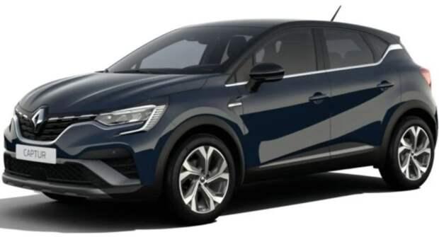 Кроссовер Renault Captur 2021 выйдет в спортивной версии RS Line, но с экономичными моторами