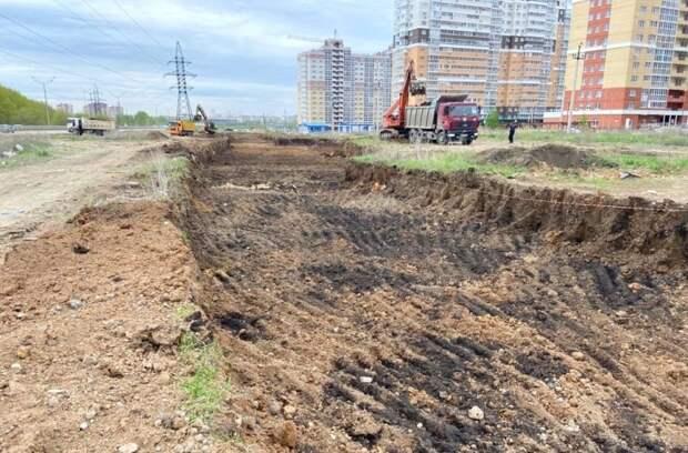Строительство дороги к Елецкому шоссе началось в Липецке
