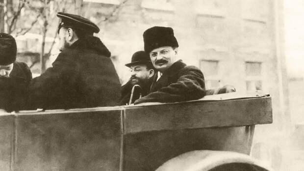 """""""Демон революции"""". Кто давал деньги и золото Ленину и Троцкому?"""