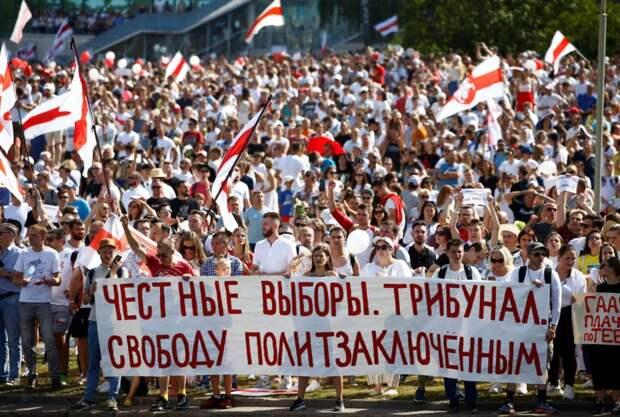 Свинья от белорусской оппозиции