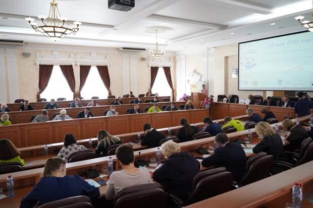 Игорь Кобзев принял участие в Первом Байкальском экологическом диктанте
