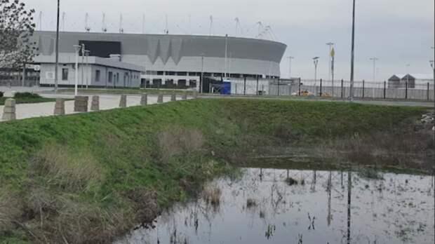 Наполив погибшего парка возле «Ростов-Арены» потратят 45млн рублей