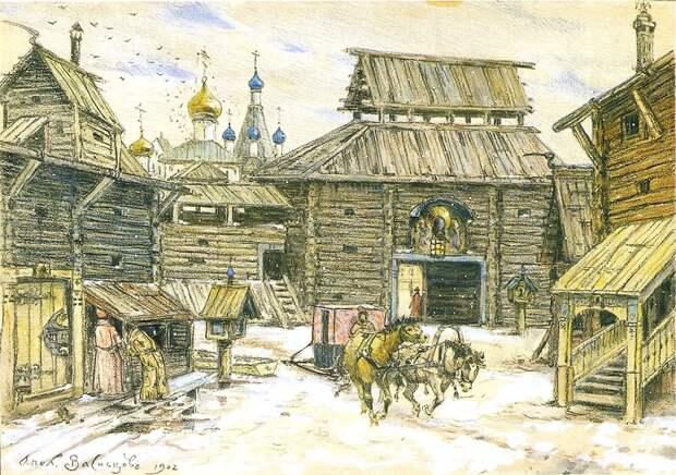 Города Русского государства в конце XV века