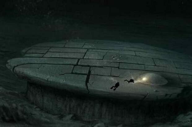 Загадочный объект, найденный в Балтийском море