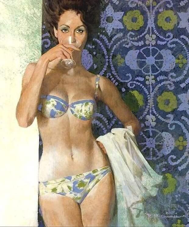 Крутые иллюстрации из 60-х (35 фотографий), photo:1