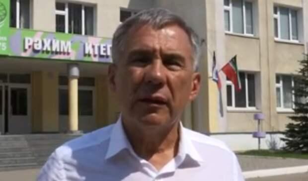 Минниханов встретится сродителями погибших при стрельбе вказанской гимназии