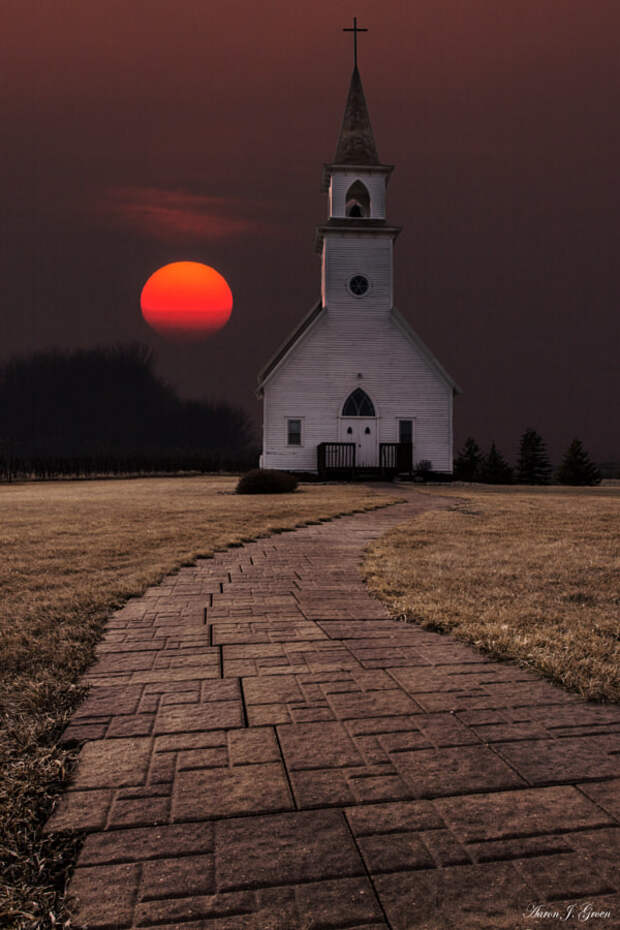 Fort Belmont Sunset by Aaron Groen on 500px