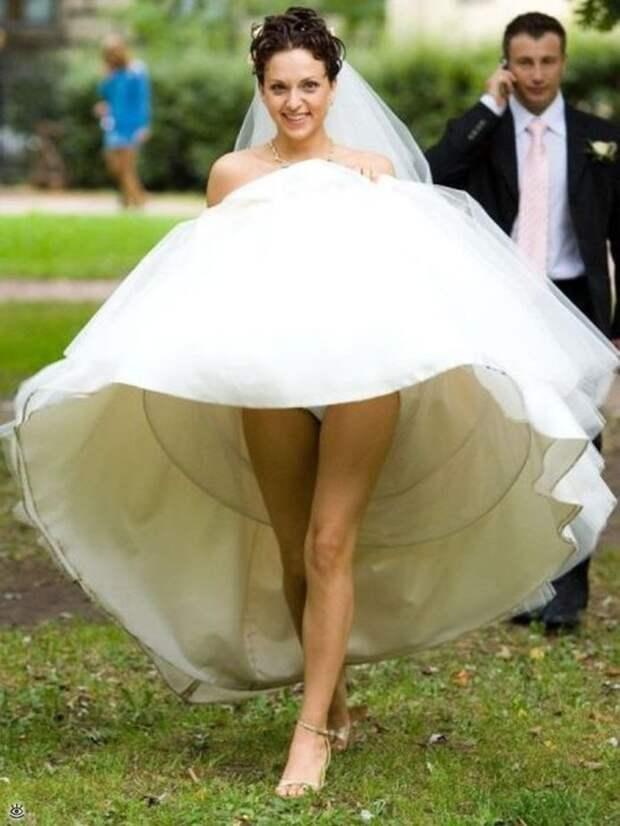 Прикольные свадебные торжества 11