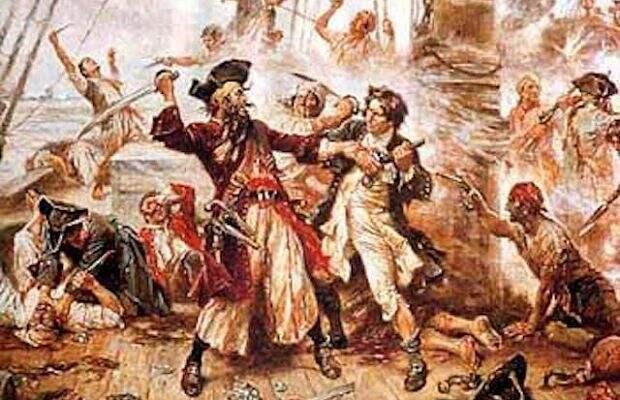10 фактов о реальных пиратах