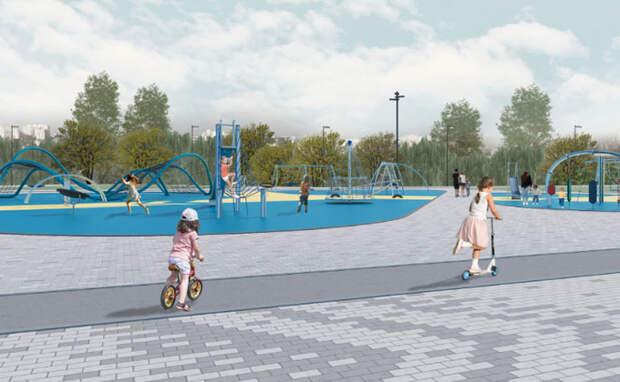 Спортивный парк построят в пойме Оби к 2022 году