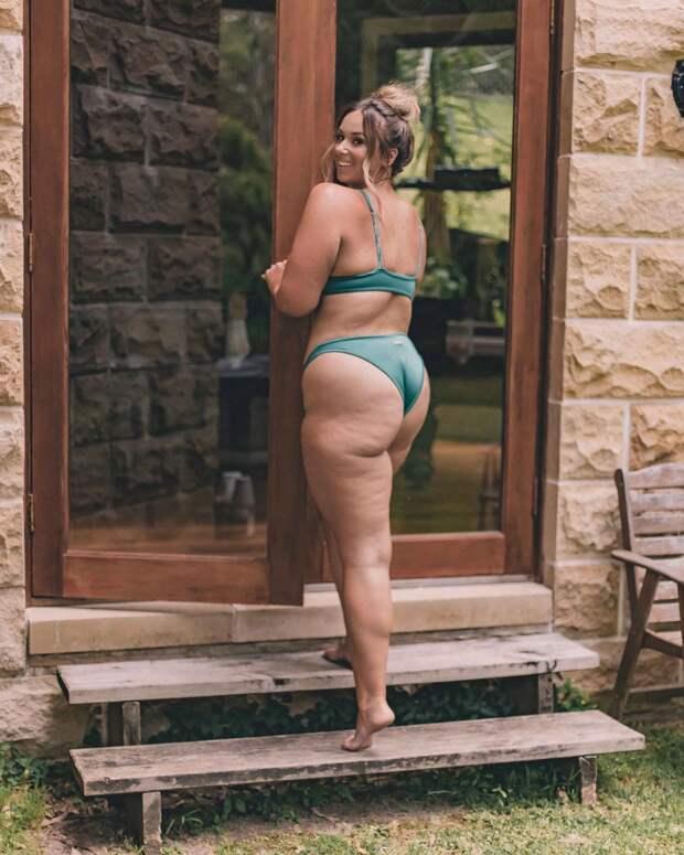 Ломая шаблоны: спортсменка-блогерша превратилась из фитоняшки в модель plus-size