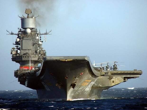Российский авианесущий крейсер «сдаётся» иностранцам сразу в ремонтных доках