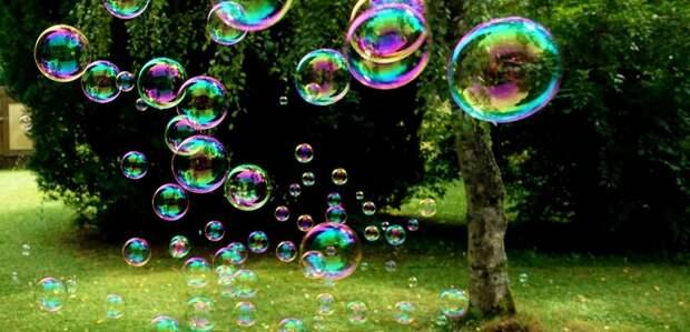 Шоу мыльных пузырей пройдет на Левобережной