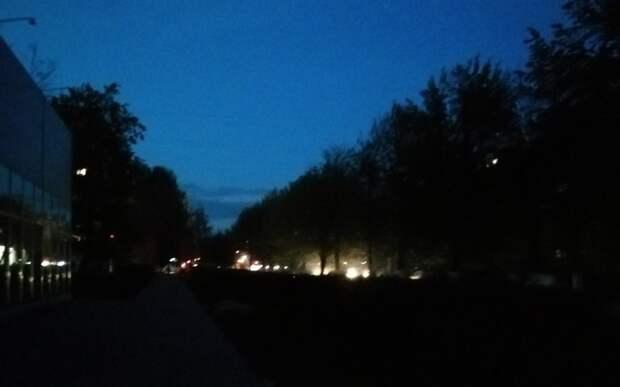 Рязанцы пожаловались на отсутствие освещения на улице Интернациональной