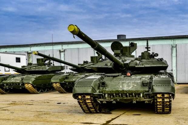 Поставки вооружений и техники в сухопутные войска в 2020 году