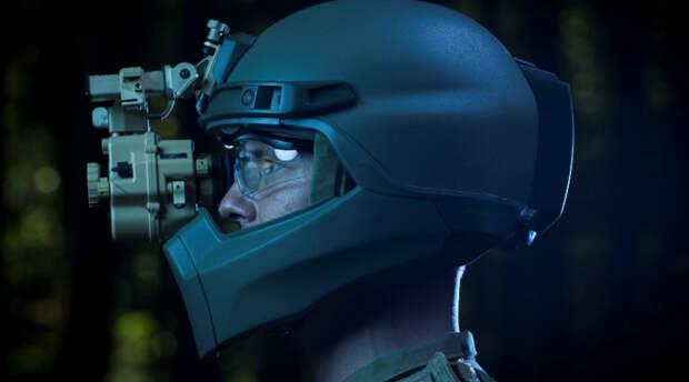 Боевые шлемы солдат будущего