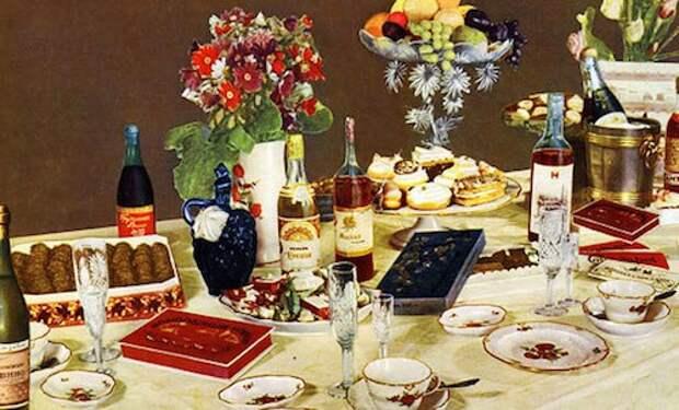 Правила сервировки десертного стола, в какой посуде и с какими приборами подавать блюда