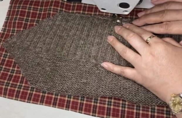 Переделайте старый свитер в модный кардиган