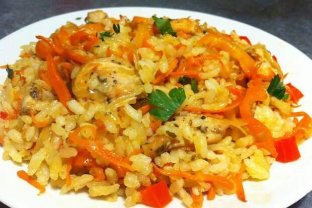 Более быстрый и вкусный способ приготовления риса без варки в кастрюле. Получается всегда ароматным и рассыпчатым