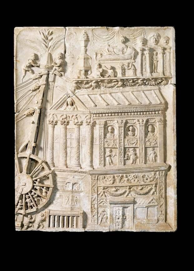 Рельеф гробницы Гатерия (Иллюстрация из открытых источников)
