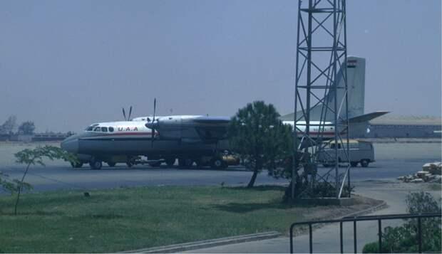 Ан-24Б компании United Arab Airlines