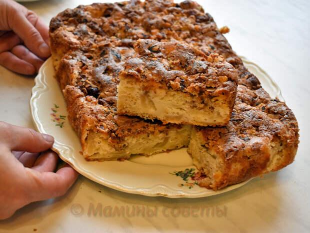 Божественный яблочный пирог. В каждом кусочке — блаженство!