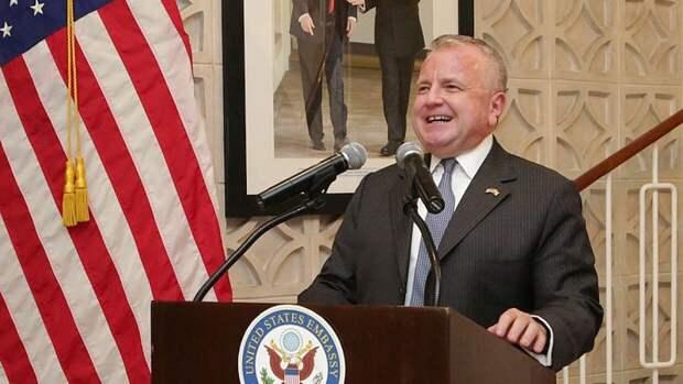Американский посол в России Джон Салливан успешно вернулся в Вашингтон