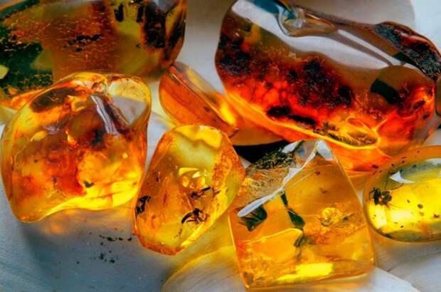 Лечебные и мистические свойства янтаря