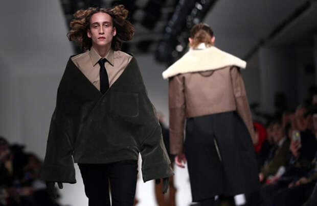 Неделя мужской моды в Лондоне.