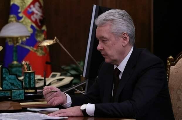 Собянин призвал ускорить темпы вакцинации от COVID-19 в Москве