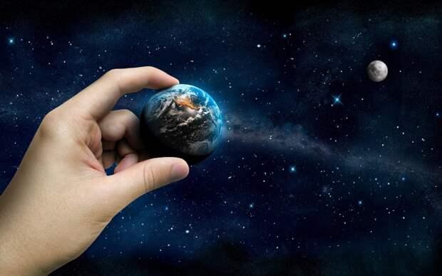 Рука единица, земля, измерения