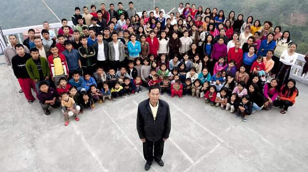 Отец 94 детей умер в Индии, оставив после себя 39 вдов
