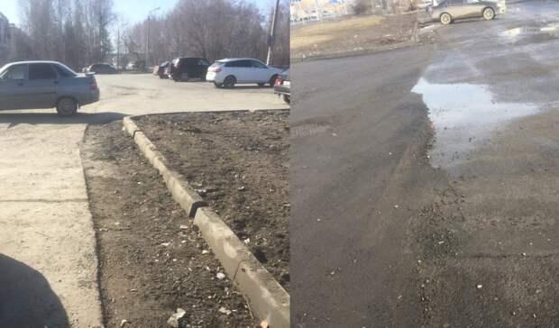 В Тобольске горожан не устраивает качество ремонта дорог, которых не хватает на сезон