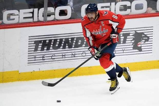 Овечкин занял третье место по очкам среди левых нападающих в плей-офф НХЛ