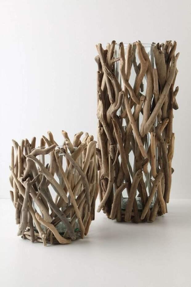 Ветки, палки...арт-объекты (трафика)