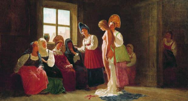 Тощих в жены не брать и другие правила семейной жизни наРуси