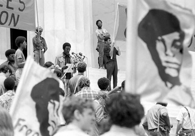Социальные конфронтации в США 1960-х - 1970-х годов: Леворадикальная Партия черных пантер   (17)