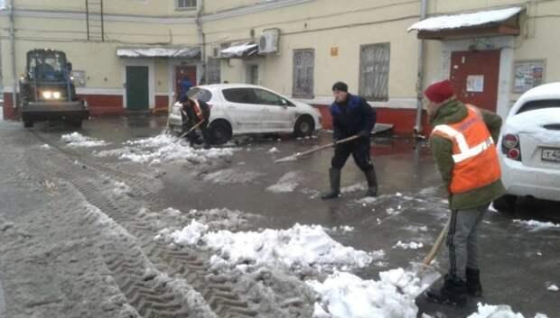 Приложение по контролю уборки снега во дворах запустили в Подмосковье