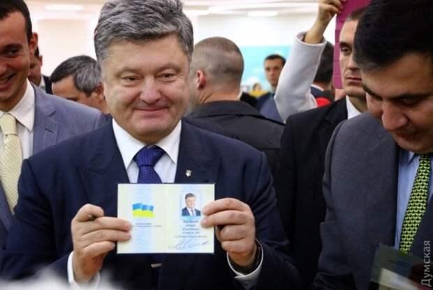 Без паспортов их оставлять нельзя: Порошенко пообещал украинские паспорта жителям Крыма и Донбасса