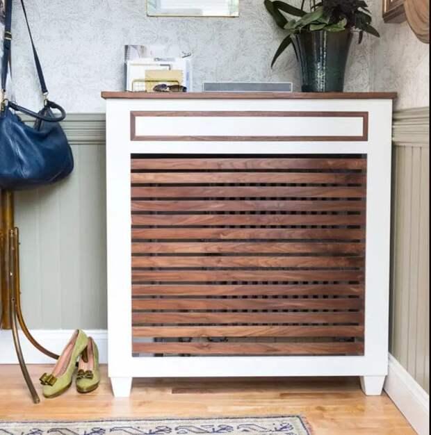 Крутые идеи сделать свою комнату необычной с помощью радиатора