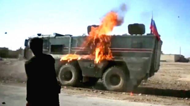 В Сирии из гранатомета обстрелян российско-турецкий патруль