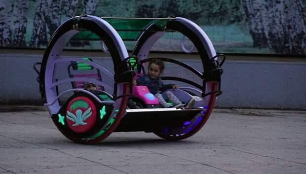 В парке Талалихина Подольска появился прокат электромобиля