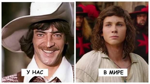 12 известных персонажей, которых играли как наши актеры, так и зарубежные