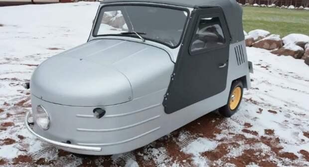 На продажу выставили советскую трехколесную машину 1957 года за 5,7 млн рублей