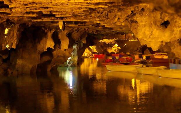 Водная пещера Али-Садр — подземное чудо засушливого Ирана