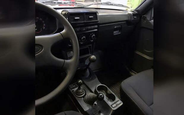 Лада 4х4 с новым салоном  — первое фото серийного авто