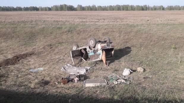 Один человек погиб в ДТП на трассе в Новосибирской области
