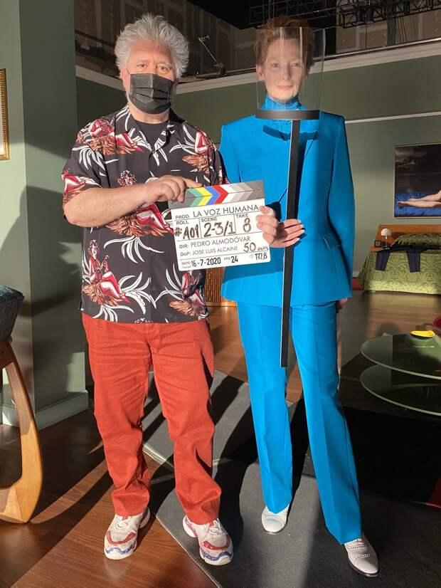 Педро Альмодовар приступил к съёмкам короткометражной адаптации «Человеческого голоса» Жана Кокто